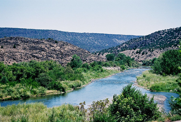 Rio Grande, New Mexico -geo coords strictly a guess - :-)