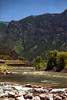 Nikon E (35mm film) (Polarizing filter) June 2002 Colorado River through Glenwood Canyon along Interstate 70