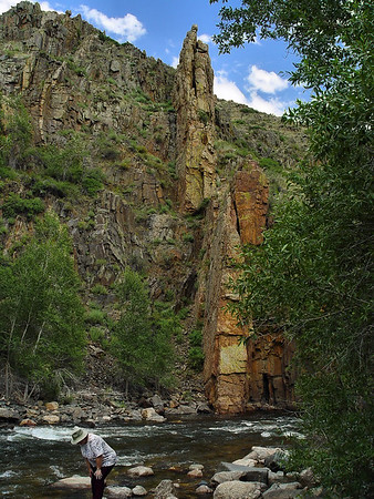 Geo Coordinates are approximate... best guess?<br /> Poudre River, CO.