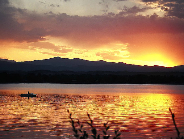 Loveland Lake Colorado: June 2002<br /> Nikon N-65 35mm Film