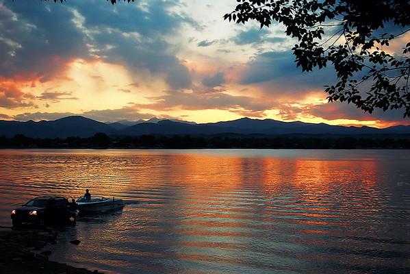 End Day<br /> <br /> Loveland Lake Colorado: June 2002<br /> Nikon N-65 35mm Film