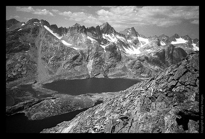 W16 Titcomb Basin from Fremont Peak