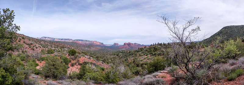 Sedona Red Rock panorama