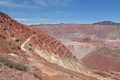 Morenci open pit copper mine