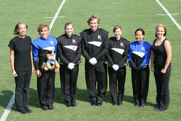 Roaring Lions Marching Band Officers 2008