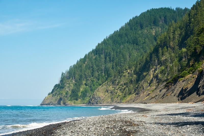 Lost Coast Trail beach between Shipman and Buck Creeks