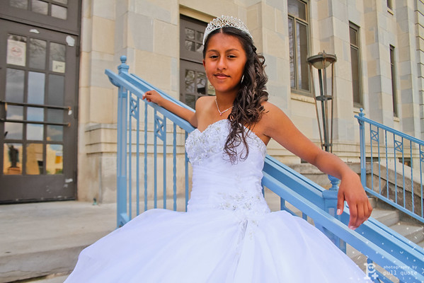 Mi Ilusion have all your Quinceanera dress needs cover. Visit our store at 601 Eight Street in Garden City, KS. Ask for Melly Orozco and the special to get a huge photograph from Newsboy Photo.
