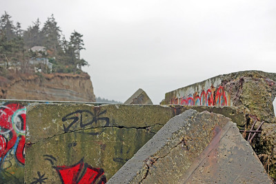 Cliffside graffiti