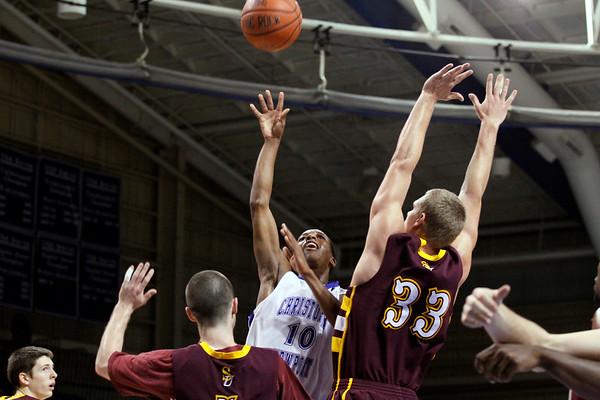 Jan 23 mens basketball CNU vs Salisbury