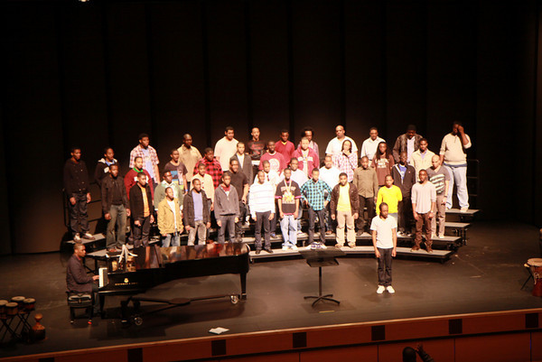 The Greater Los Angeles Morehouse Alumni Association Presents Echoes of Excellence Featuring The Morehouse College Glee Club 2-27-2010