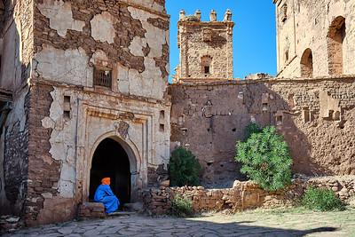 The Telouet Kasbah in Morocco's High Atlas Mountains.
