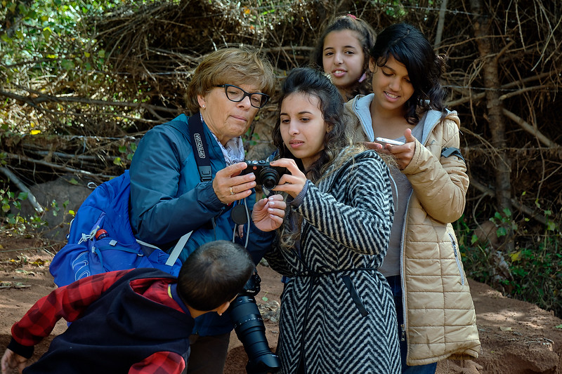 Photography lessons with The Giving Lens near Tighdouine, Morocco