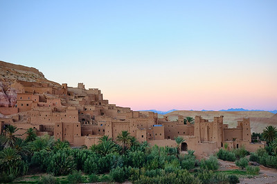 The UNESCO World Heritage site of Ait Ben Haddou, Morocco.