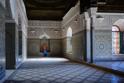 The Telouet Kasbah in the High Atlas Mountains of Morocco.