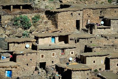 Ait Ben Amar in the High Atlas Mountains, Morocco.