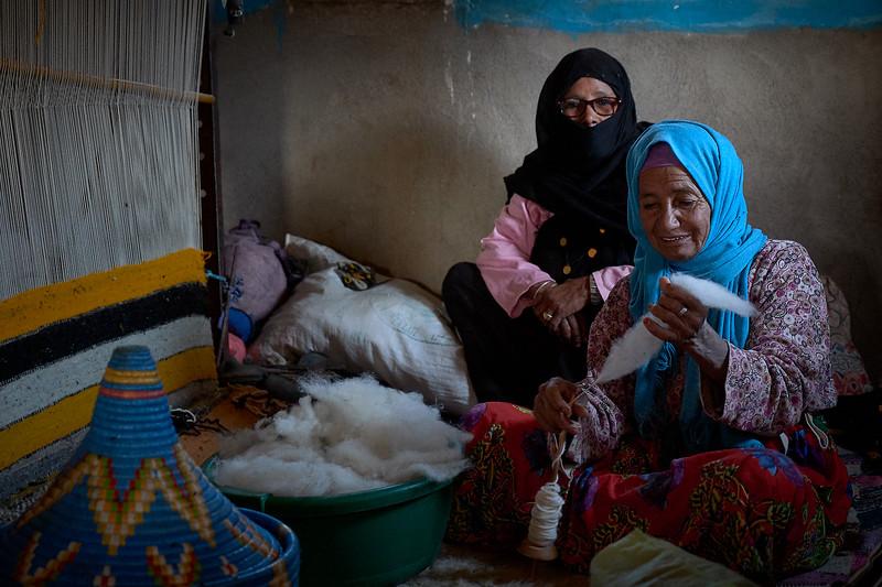 morocco weavers