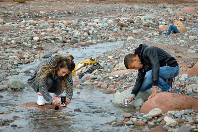 Photography lessons on the Oued Zat, outside of Marrakech, with The Giving Lens.