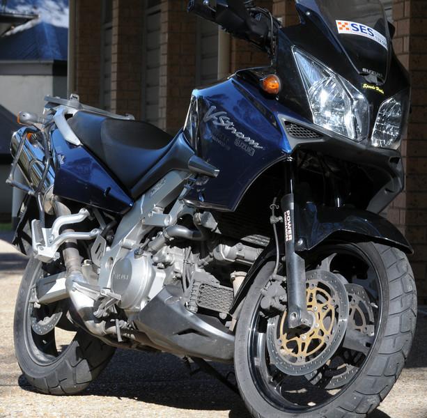 2002 model Powercommander III- Dyno Tuned- Penske Racing suspension- Heated Grips- HID dual headlights- Low seat (plus original)- Staintune exhausts (plus original)- Lowered h/bars (plus original)- Speedo Healer- Givi pannier rack