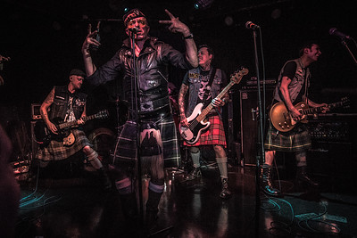 The Real Mckenzies, Upstairs Cabaret 2016