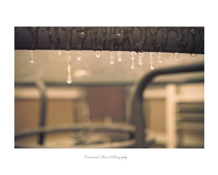 Hanging Ice: For a large quantities of this print please contact me for pricing.