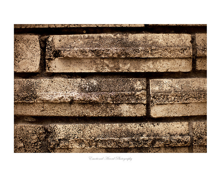 Urban Bricks: For a large quantities of this print please contact me for pricing.