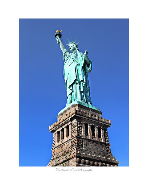 Lady Liberty: For a large quantities of this print please contact me for pricing.