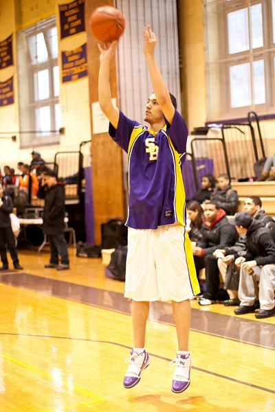 Boys Basketball Playoffs vs LIC-1
