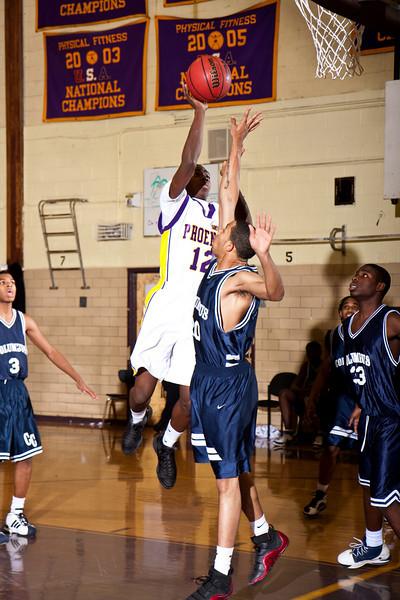 Boys Varsity Basketball v columbus 1-14-09-1
