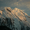 Sunrise on a shoulder of Nanga Parbat