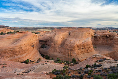 The trail to Delicate Arch, Arches National Park