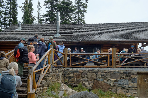 The teahouse at Lake Agnes, Banff National Park