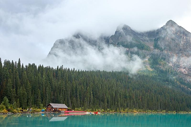 Early morning at Lake Louise, Banff National Park