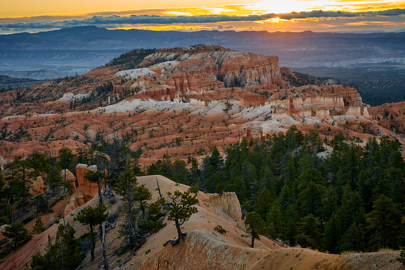 Sunrise from Sunrise Point, Bryce Canyon National Park