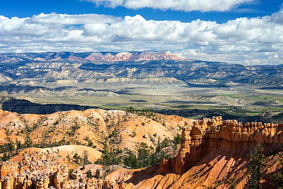 View from the top of the Peekaboo Loop Trail, Bryce Canyon National Park