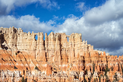Wall of Windows from the Peekaboo Loop Trail, Bryce Canyon National Park