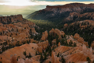 Early morning from Sunrise Point, Bryce Canyon National Park