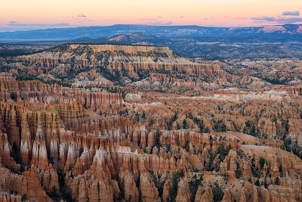 Sunset from Inspiration Point, Bryce Canyon