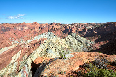 The origins of Upheaval Dome still remain a mystery - was it a meteor or an ancient ocean salt upheaval?
