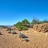 Pueblo ruins on top of Aztec Butte, Canyonlands National Park.
