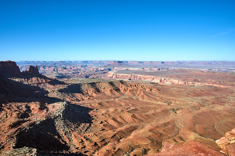 Junction Butte and The Maze District from Grand View Point, Canyonlands National Park.