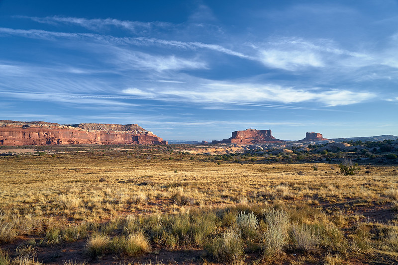 Buttes near Canyonlands National Park.