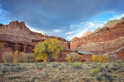 Outside of Fruita, Capitol Reef National Park