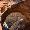 Rapellers descending Cassidy Arch