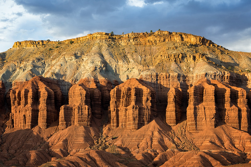 Formations at Capitol Reef National Park