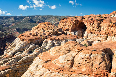 Cassidy Arch from the Cassidy Arch Trail, Capitol Reef National Park