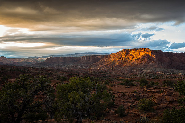 Sunset from Panorama Point, Capitol Reef National Park
