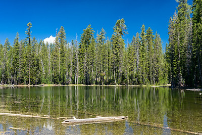 Unnamed lake west of Long Lake, Caribou Wilderness