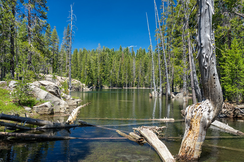 Evelyn Lake, Caribou Wilderness