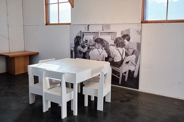 The school at Manzanar National Historic Site