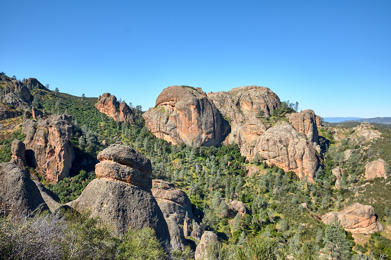 pinnacles rocks